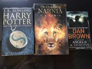 Harry Potter & the Deathly Hallows / Angels & Demons / Chronicles of Narnia