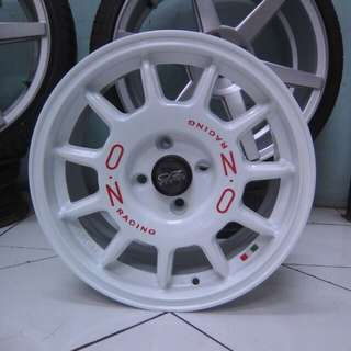 Velg racing murah type OZ ULTRALeggend r15x7 pcd4x100