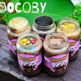 Chocolate Jar Choocoby