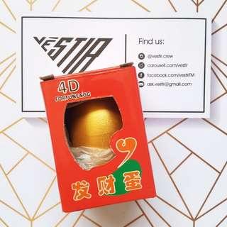 4D Fortune Egg