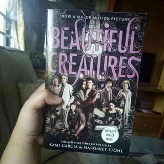 NOVEL BEAUTIFUL CREATURES