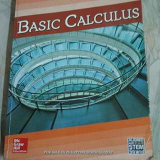 SHS Basic Calculus Textbook (Aligned w/ Kto12 STEM Strand)