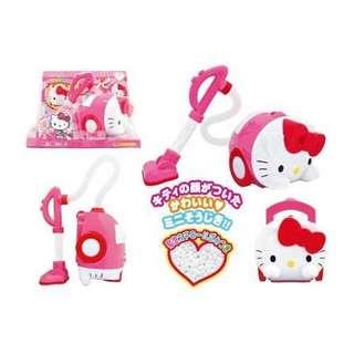 預購❤️日本進口凱蒂貓 HELLO KITTY 吸塵器玩具