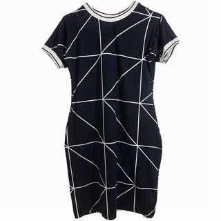L0318 T-Shirt Dress