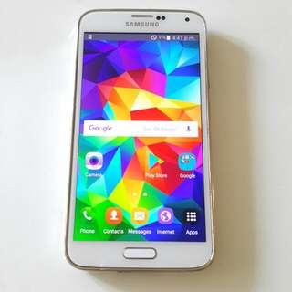 New Samsung Galaxy S5 4g LTE 32gb White