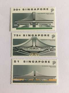 Singapore 1989 indoor stadium mnh