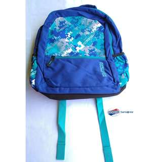 American Tourister by Samsonite Large Unisex Backpack - Blue/ Sky blue (Converted SRP of 3,109Php + )