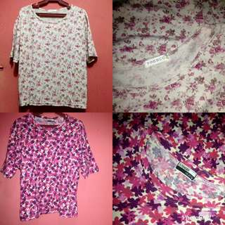 Floral Blouse 2 for 120