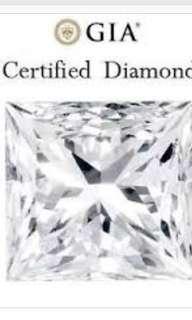 GIA Princess Diamond - 0.50ct for ring