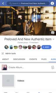Group for sellers and buyers Authentic item