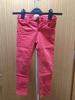 Zara Boys Red Skinny Jeans (Size 5/6)
