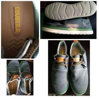 Couber.C 男生帆布鞋, (全新)冇穿過, 雙重線防滑鞋底。專門店原價$365.00