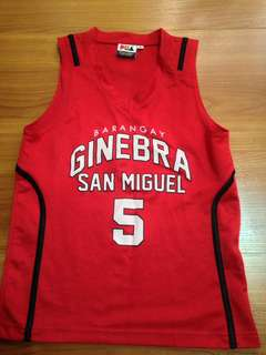 Ginebra pba jersey basketball sando