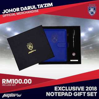 Original official JDT note book set