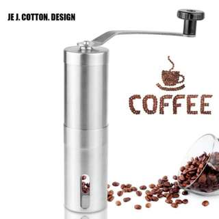 High Quality Handheld Stainless Steel Coffee Grinder Coffee Grinding Tool Burr Mill Machine Manual Coffee Grinders for Kitchen
