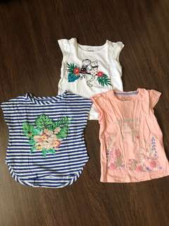 Pre-loved girls tops