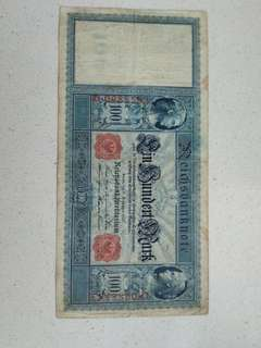 1909 100 german mark for sale