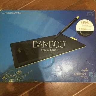 Bamboo Wacom Pen Tablet