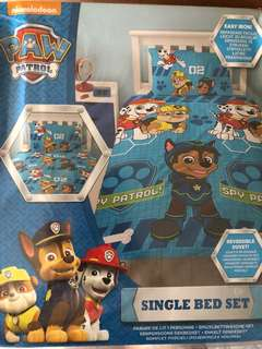 Nickelodeon Paw Patrol bedding set
