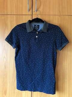 XXS Cotton On Polka Dot Polo Shirt