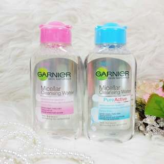 GARNIER MICELLAR CLEANSING WATER 125ml Kulit Berjerawat dan Kulit Sensitive