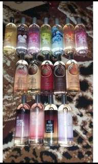 The body shop body mist original reject 100ml