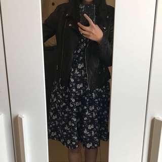 韓國 碎花洋裝