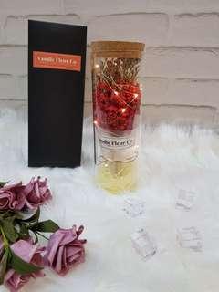 LED Flower Bottle