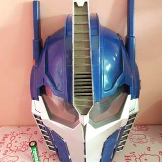 optimus prime talking mask
