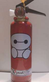 kYOOT Fire Extinguisher BIG HERO B-MAX