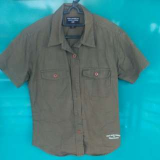 Polo Jeans Co. Button down short sleeve shirt