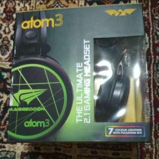 Gaming Headset Armaggeddon atom3