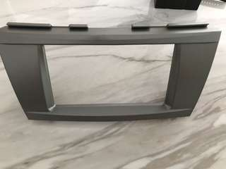 Double din casing for DVD player for Toyota Camry 08