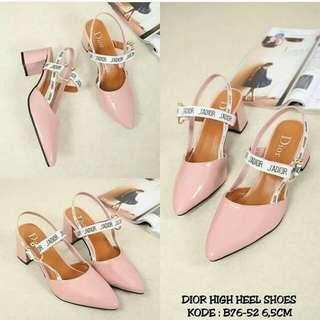 Dior heels high shoes