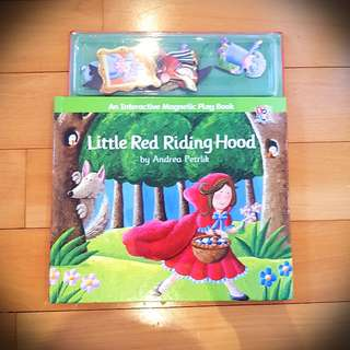 Magnatic book (Little red riding hood )