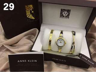 Auth Anne Klein Watch set!!!