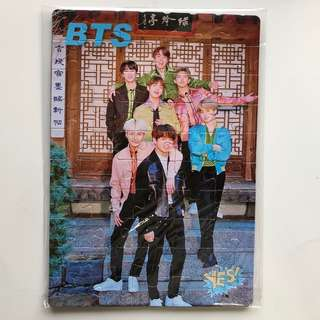 BTS Yes!Card 第32期 偶像拼圖滑鼠墊