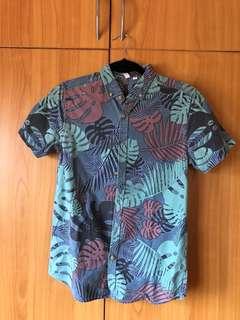 XS Penshoppe Floral Polo Shirt