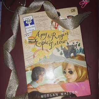 [NEW] Amy and Roger's Epic Detour (Novel Terjemahan Baru)