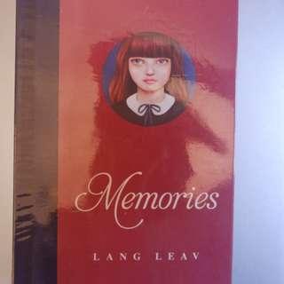 NEW MEMORIES - LANG LEAV
