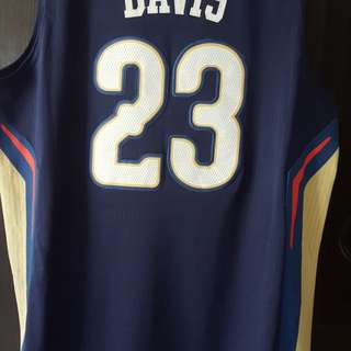 Anthony Davis NOP road Jersey Medium