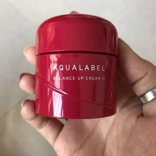 Sheseido Aqualabel Balance Up Cream
