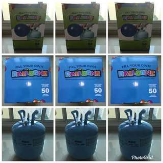 Helium Gas 22L Ready Stock (Made in M'sia)