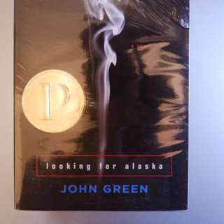 NEW LOOKING FOR ALASKA - JOHN GREEN