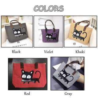 Free Shipping Cat Women's Shoulder Bag