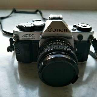 古董相機 CANON -AE1 PROGRAM