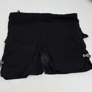 Maternity Black Short Pants