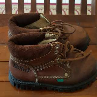 Kickers original boot for boy