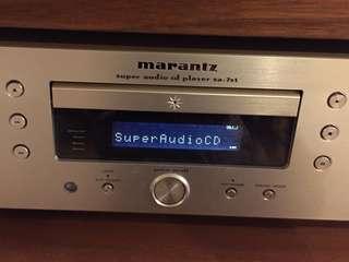 Marantz SACD Player SA-7S1: 如相片所示(as shown)