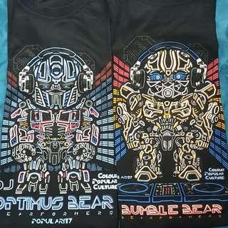 Popularity DJ Bearformers t shirt (XXL)
